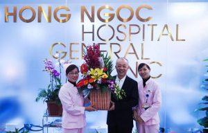 Bệnh viện đa khoa quốc tế Hồng Ngọc Hà Nội khai trương phòng khám quốc tế ở Long Biên