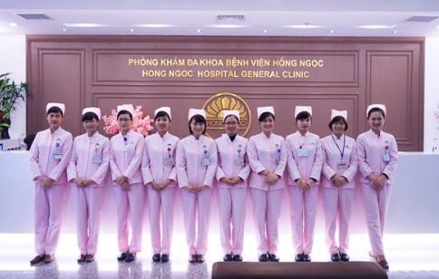 Bệnh viện đa khoa quốc tế Hồng Ngọc Hà Nội khai trương phòng khám mới ở Long Biên