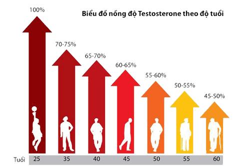 Cách tăng cường testosterone